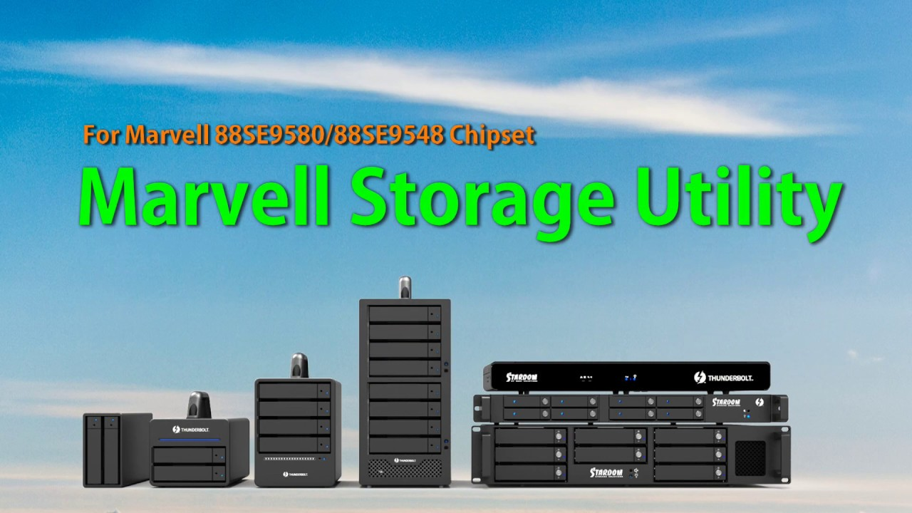 Marvell Storage Utility RAID 5 Setting-(2)