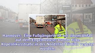 Unfall mit lkw auf dem e-damm ecke kopernikusstraße in der nordstadt – haz – hannoversche allgemeine