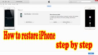 How to Restore iPhone Firmware ipsw file 4/4s/5/5s/6/6s... 2016 (Khmer) Dam Khunpisey