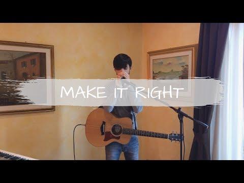 BTS (방탄소년단) - Make It Right (ft. Lauv) [loop cover - Federico Madeddu]