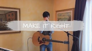 Download BTS (방탄소년단) - Make It Right (ft. Lauv) [loop cover - Madef]