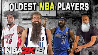 Oldest Players in NBA 2K18 thumbnail