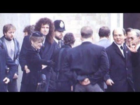 Freddie Mercury's Funeral