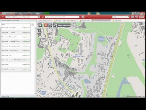 Поиск маршрута на карте Киева ЯрМап 2