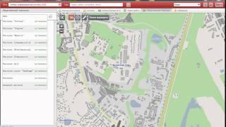 Поиск маршрута на карте Киева ЯрМап 2(Пример поиска остановки в ЯрМап2. http://kiev.yarmap.ua/download/pc/, 2011-07-07T11:34:33.000Z)