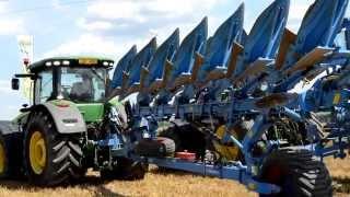 Трактор JOHN DEERE 8320 R LEMKEN Diamant 12