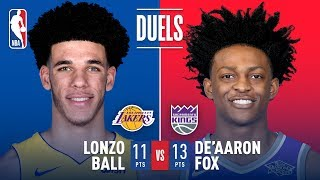 Rookie Point Guards Lonzo Ball and De