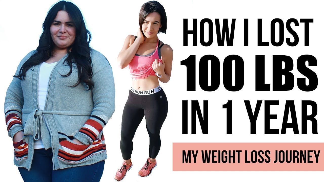 HOW I LOST 100LBS IN 1 YEAR - Before & After