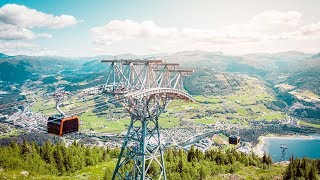 LEITNER ropeways in Norway - Voss Gondol, 3S