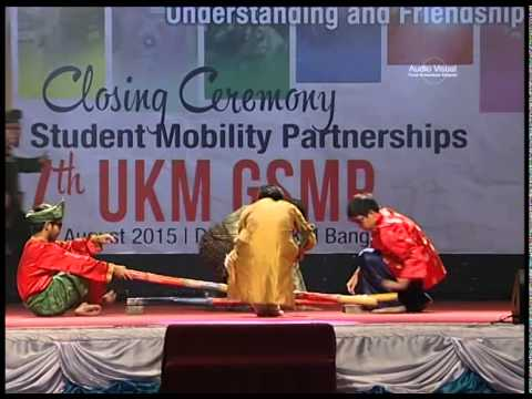 Closing ceremony UKM GLOBAL STUDENT MOBILITY PARTNERSHIPS,