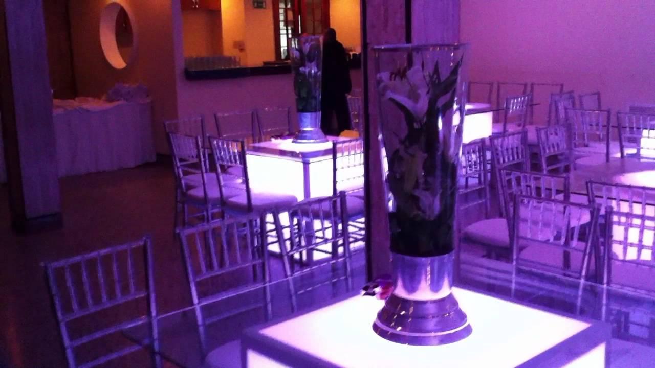 Mesas iluminadas para decoracion tucci producciones c a - Decoracion navidena para eventos ...