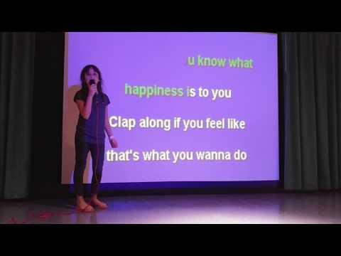 Rosa Sings Happy - Karaoke