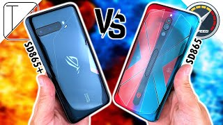 Asus ROG Phone 3 vs RedMagic 5S Speed Test