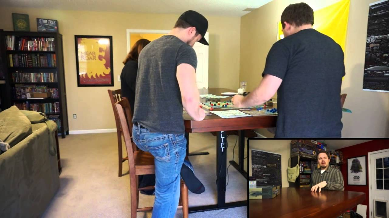 Left Hand Reviews 51b Adjustable Height Gaming Table Part 2