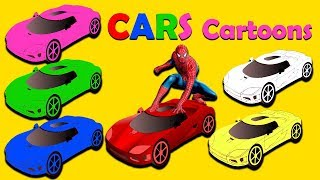 Baby Learn Colors With Car | Superb Toon