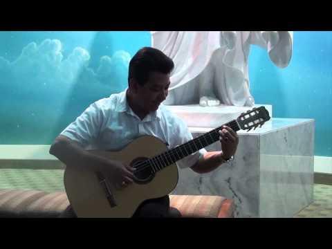 Carlos Rivas in the mesa Az temple.