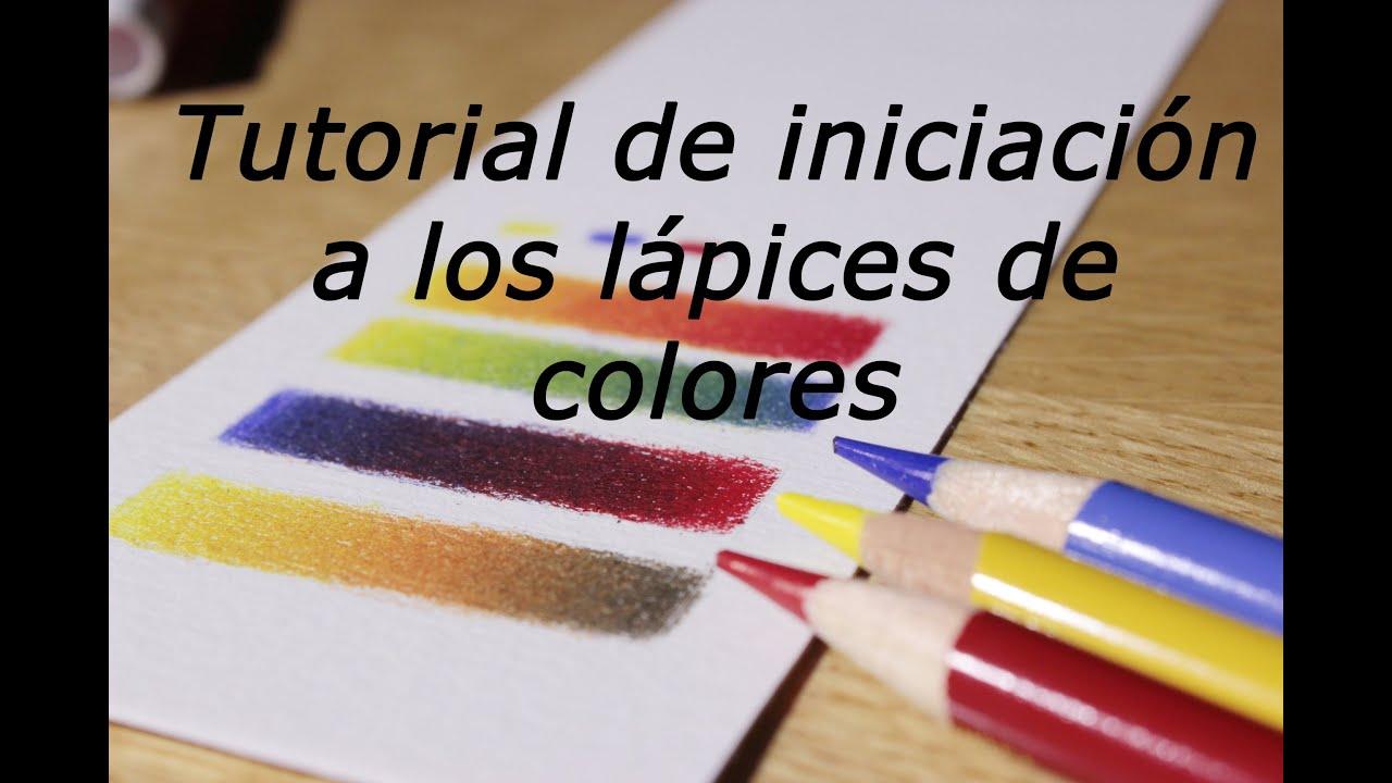 Iniciaci n a los l pices de colores c mo mezclar y hacer - Como hacer colores ...