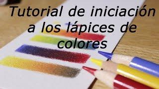 Iniciación a los lápices de colores (cómo mezclar y hacer degradados) thumbnail