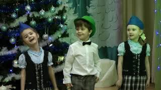 Новый год 2021 в детском саду «Жемчужинка»