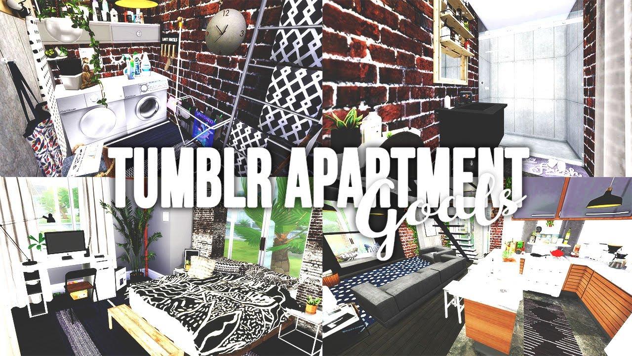Sims 4 Tumblr Apartment Goals Sd Build