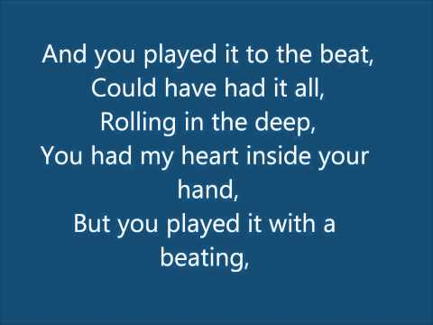 Adele - Rolling In The Deep Lyrics & Download