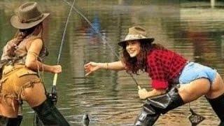 Funny video (Приколы на рыбалке) выпуск №8