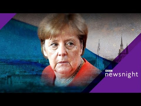 Angela Merkel under fire in Bavaria  - BBC News