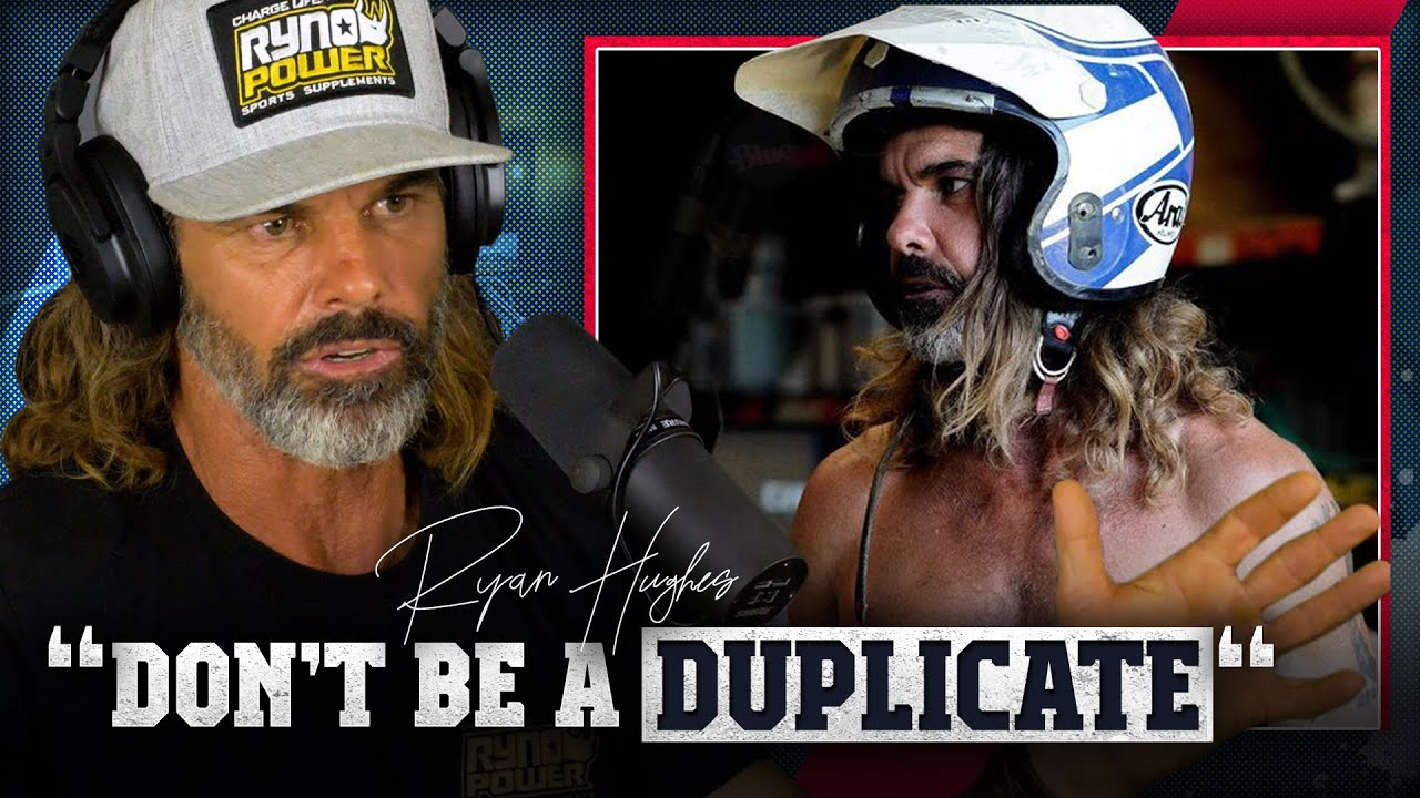 """""""Don't be a f**king duplicate"""" - Ryan Hughes FULL PODCAST video available now - Gypsy Tales"""