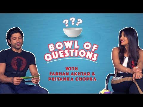 Bowl Of Questions With Priyanka Chopra & Farhan Akhtar | The Sky Is Pink | MissMalini Mp3