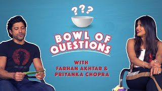 Bowl Of Questions With Priyanka Chopra & Farhan Akhtar | The Sky Is Pink | MissMalini