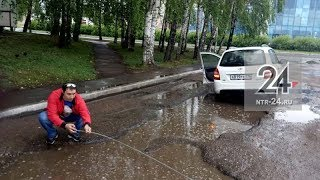 """Таксист из Нижнекамска из-за ям на дорогах хочет вызвать в суд представителей """"Департамента ЖКХ"""""""