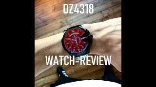 Diesel Men's Watch DZ4318 Review - Unboxing (The most well Known Diesel WATCH )