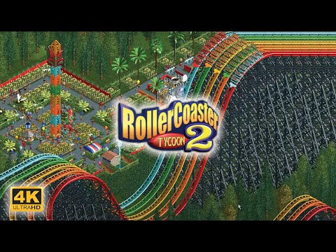 RollerCoaster Tycoon 2 | Intro Cinematic ⁴ᴷ⁶⁰ |