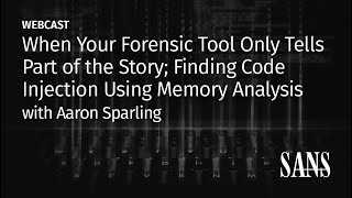 When your forensic tool only tells part of the story finding code injection using memory analysis