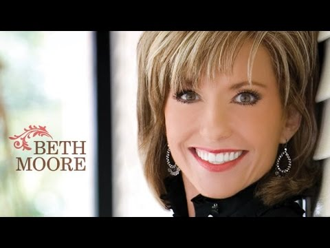 "Beth Moore: ""To Hunger and Thirst for God,"" part 1"