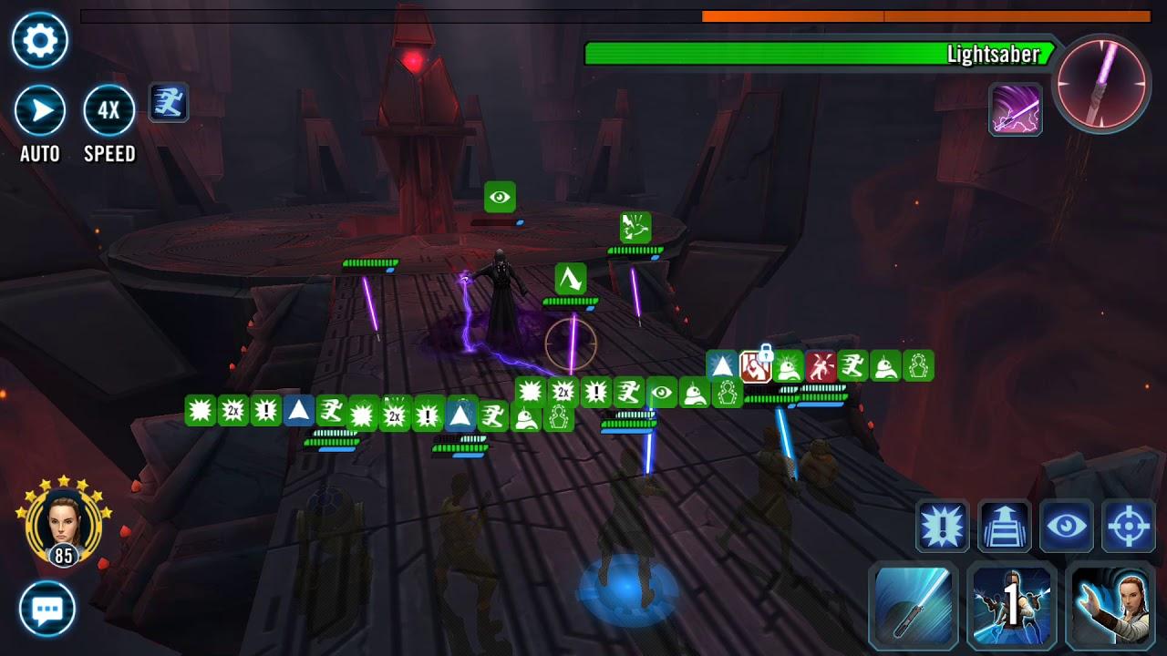 SWGoH: Sith Triumvirate Raid - Phase 3 - 5 million Damage - RJT