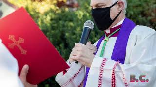 MIRROR: Archbishop of San Francisco performs exorcism to cleanse protest site