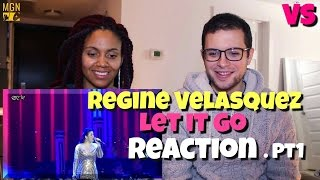Regine Velasquez - Let It Go (Frozen Soundtrack) - VS - Reaction Pt.1
