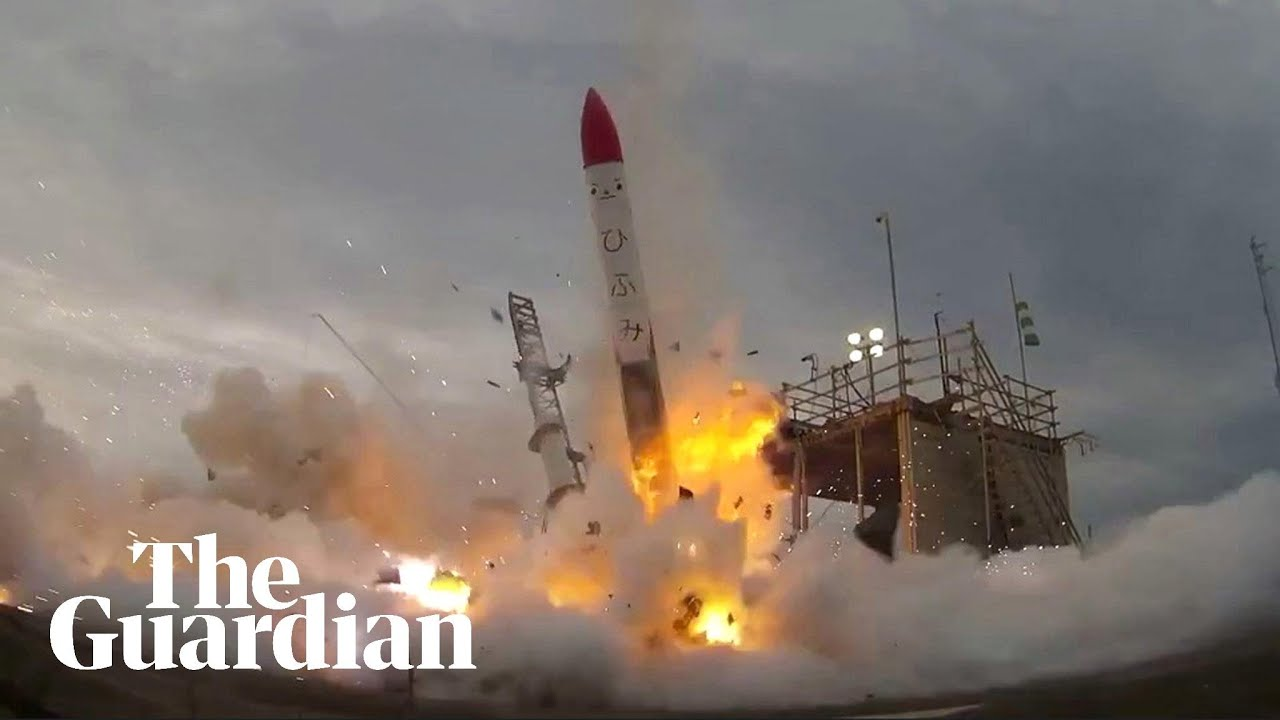 momo 2 rocket explodes seconds after liftoff youtube
