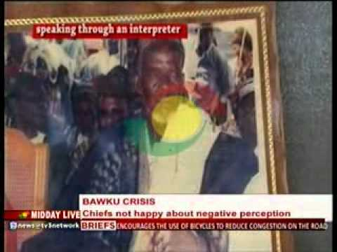 Midday Live - Bawku Chiefs Not Happy About Negative Perception - 29/9/2014