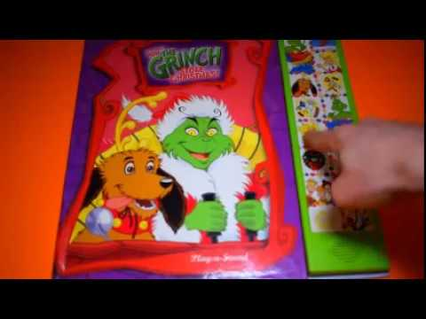 HOW THE GRINCH STOLE CHRISTMAS PLAY-A-SOUND STORY SOUND BOOKS FUN ...