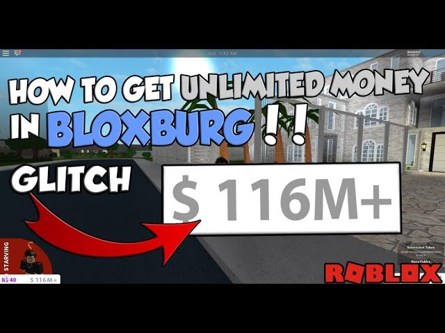 HOW TO GET UNLIMITED MONEY (GLITCH) - Roblox Bloxburg ...
