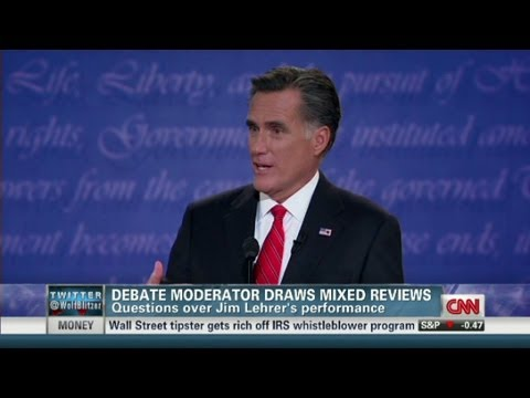 The Role of the Debate Moderator