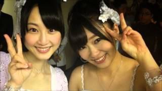 SKE48松井玲奈が須田亜香里のモノマネでHKT48指原莉乃を驚かせる!!