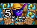 🍀🎲 5 Un'Goro Packs in One Game ~ Journey to Un'Goro ~ Hearthstone Heroes of Warcraft