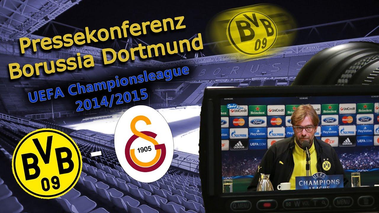 UEFA Championsleague: Borussia Dortmund - Galatasaray Istanbul: Pressekonferenz des BVB