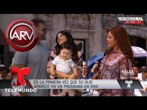 Angélica Celaya presenta a su bebé y trae una sorpresa  Al Rojo Vivo  Telemundo