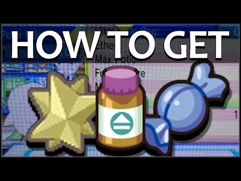 How To Get Pp Up And Rare Candy Pokemon Or As Youtube