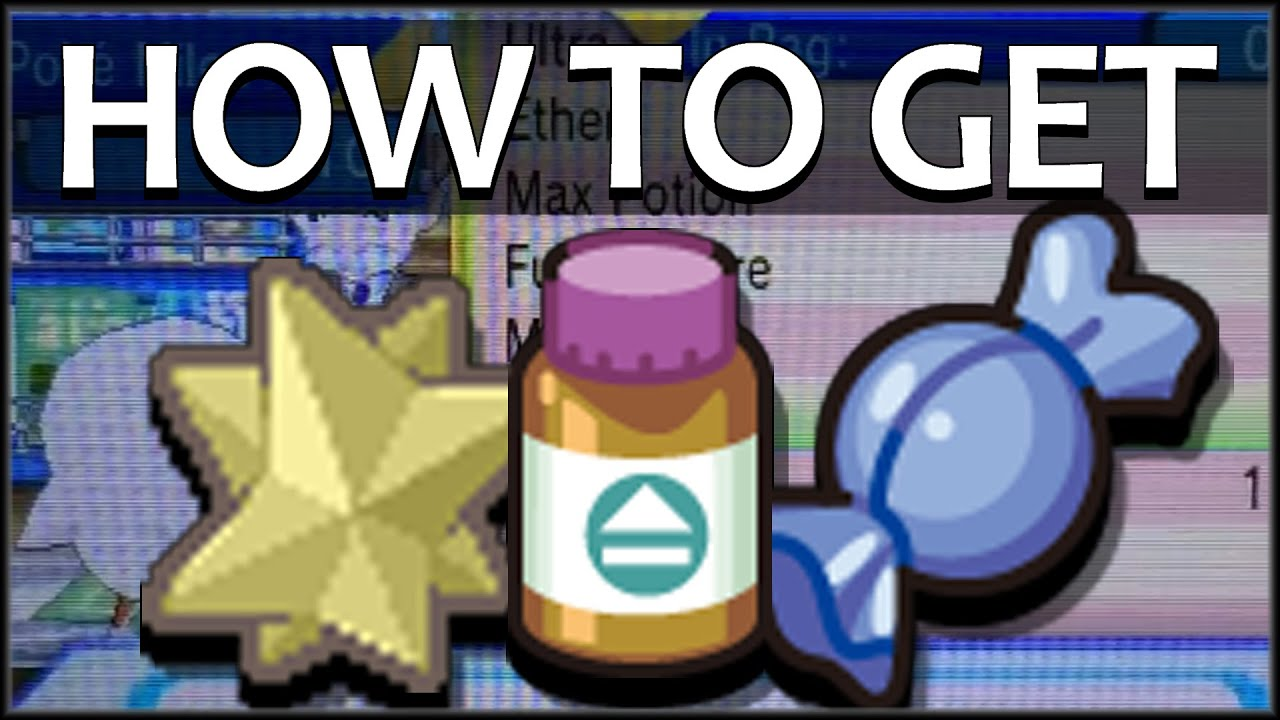 How To Get Pp Up Rare Candy Max Revive In Pokemon Oras