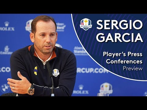 Sergio Garcia | Ryder Cup Press Conference at Le Golf National